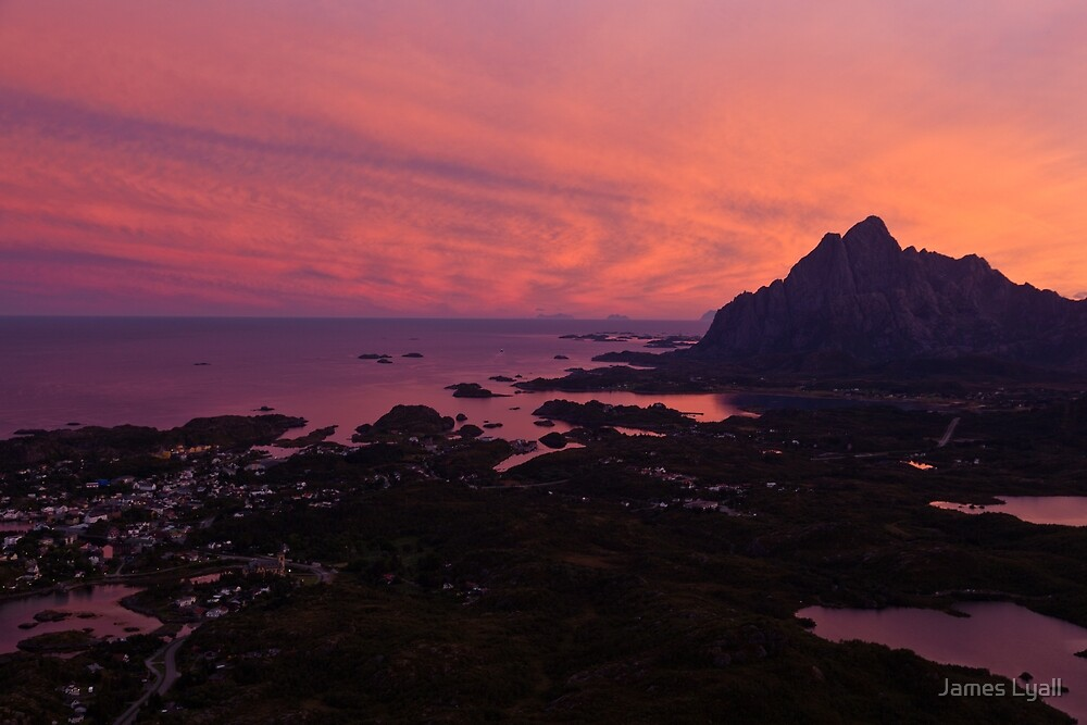 Sunset in Norway by James Lyall