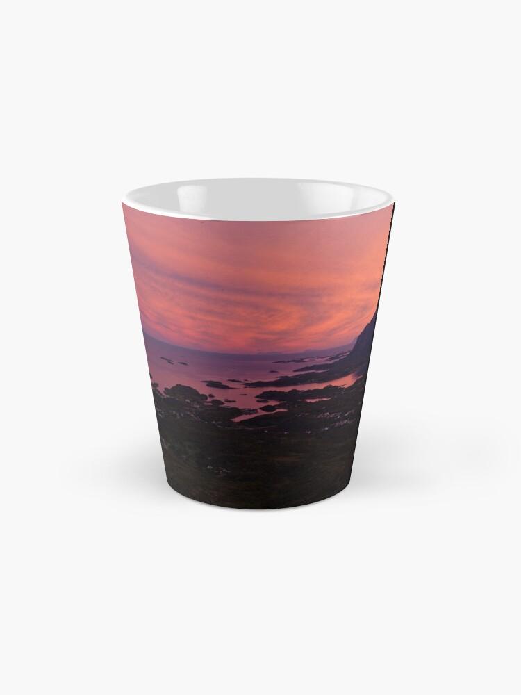 Alternate view of Sunset in Norway Mug
