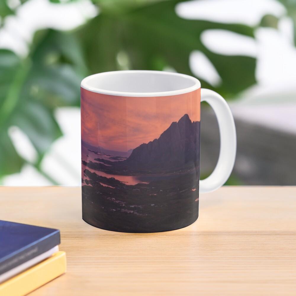 Sunset in Norway Mug