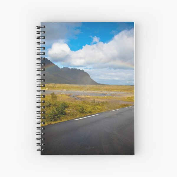 Rainbow in Norway Spiral Notebook