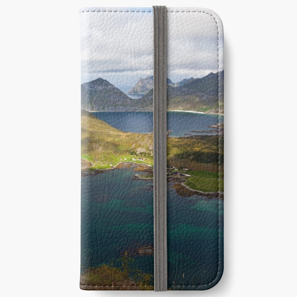 Landscape of Norway (1 of 3) iPhone Wallet