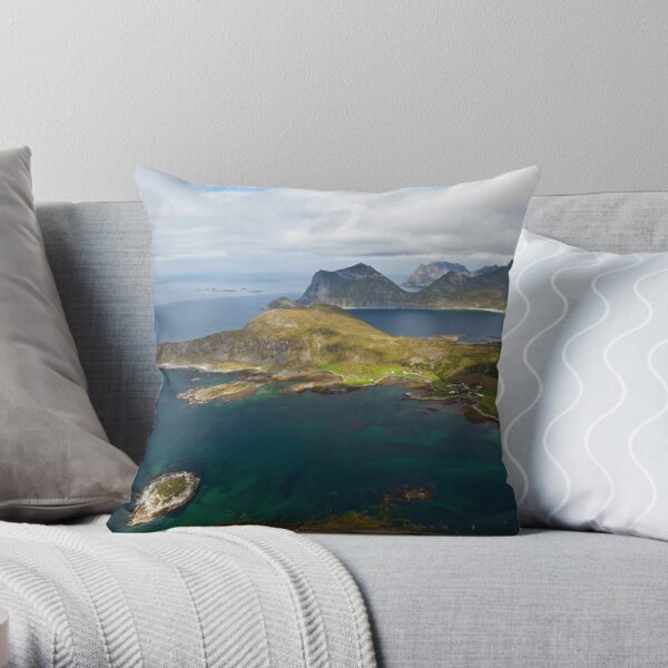 Landscape of Norway (1 of 3) Throw Pillow