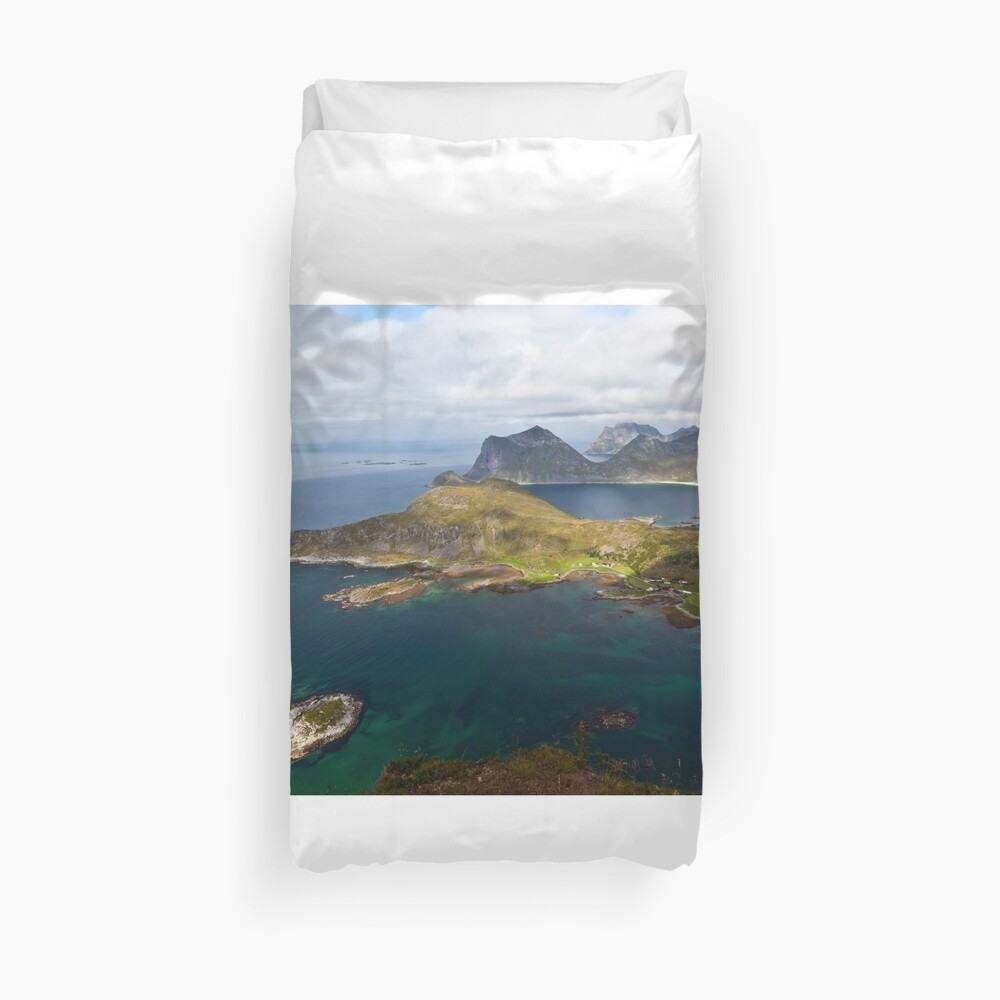 Landscape of Norway (1 of 3) Duvet Cover