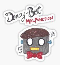 Darcy-Bot Malfunction Sticker
