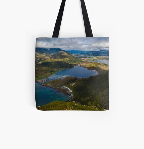 Landscape of Norway (2 of 3) All Over Print Tote Bag