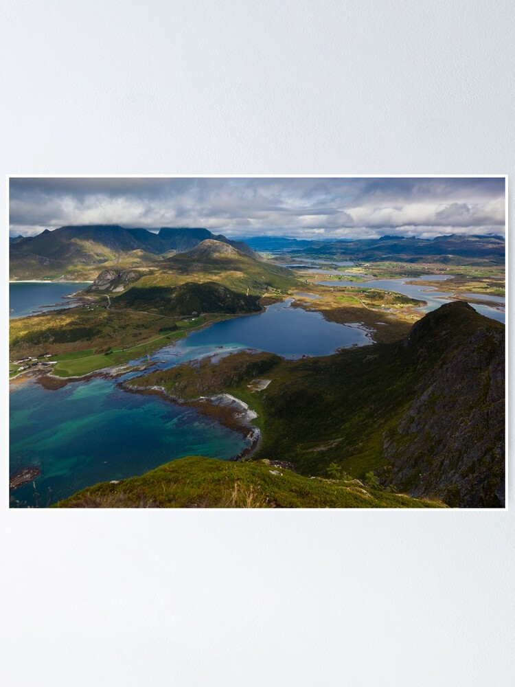 Alternate view of Landscape of Norway (2 of 3) Poster