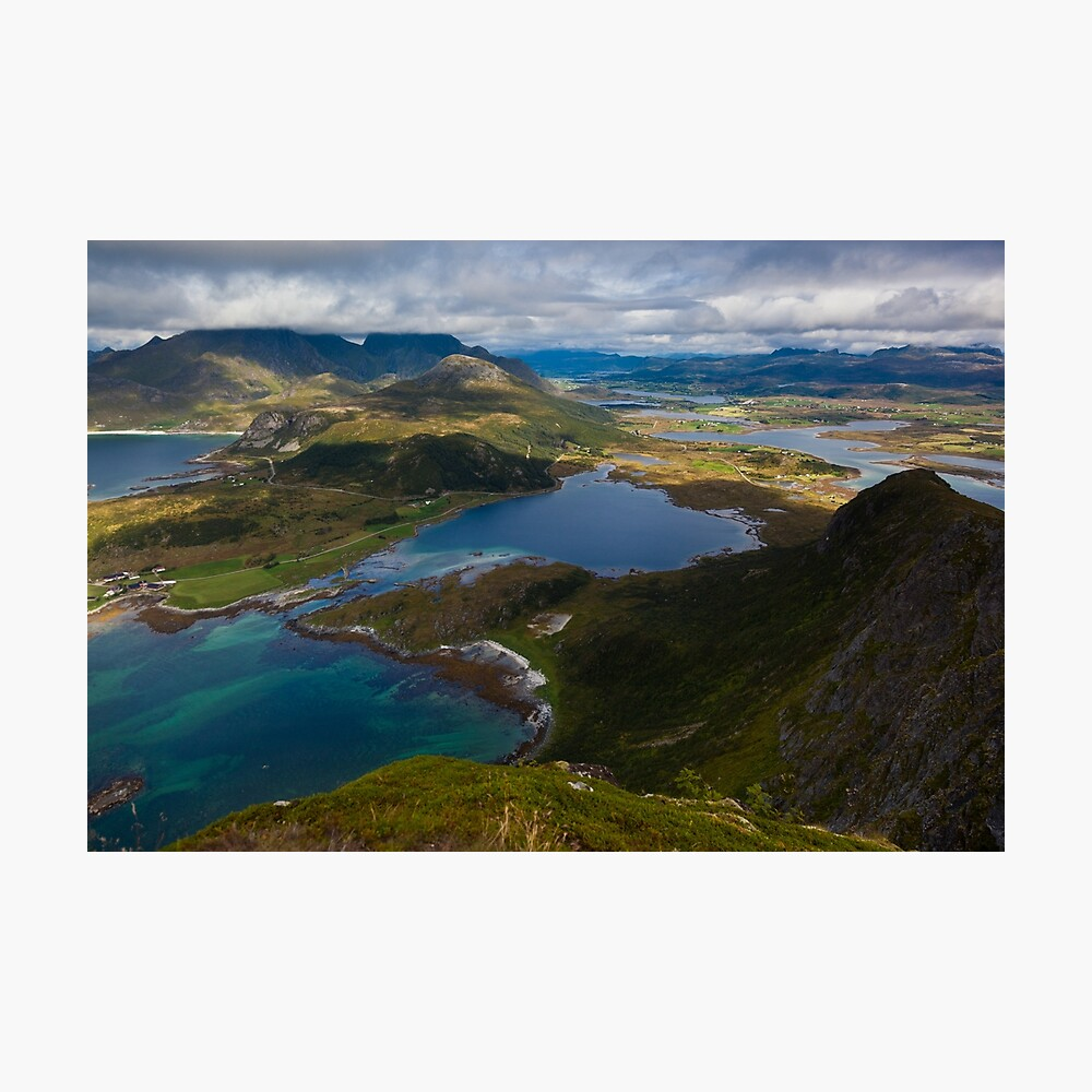 Landscape of Norway (2 of 3) Photographic Print