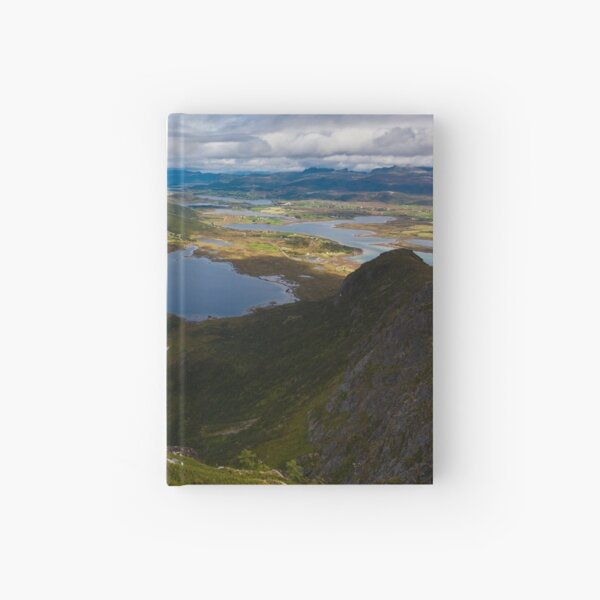 Landscape of Norway (2 of 3) Hardcover Journal
