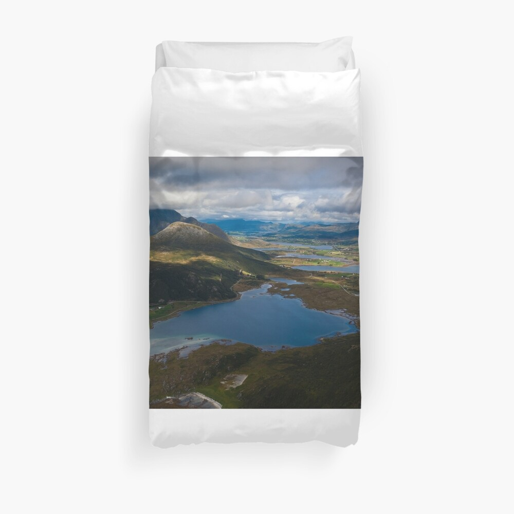 Landscape of Norway (3 of 3) Duvet Cover