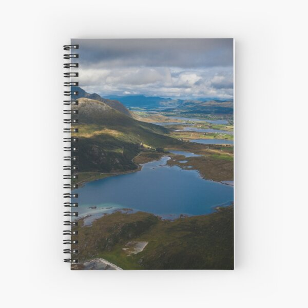 Landscape of Norway (3 of 3) Spiral Notebook