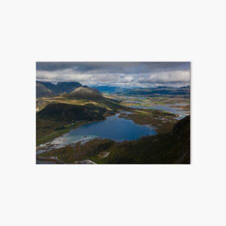 Landscape of Norway (3 of 3) Art Board Print