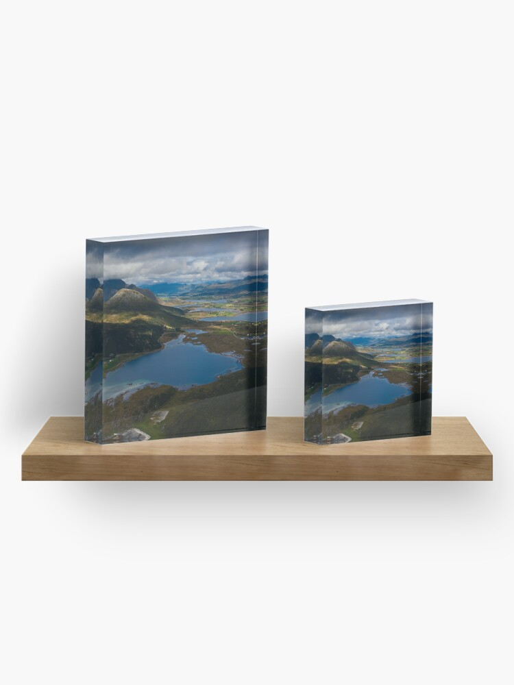 Alternate view of Landscape of Norway (3 of 3) Acrylic Block