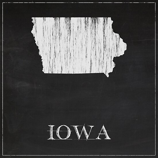 Iowa - Chalk by FinlayMcNevin