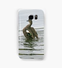 Chestnut Teal - female (4170) Samsung Galaxy Case/Skin