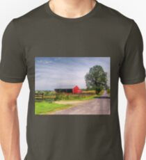 Tree On A Gravel Road T-Shirt
