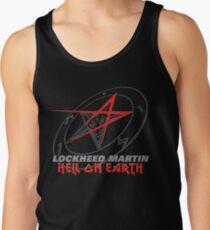 Lockheed Martin - Hell On Earth Men's Tank Top