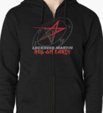 Lockheed Martin - Hell On Earth Zipped Hoodie