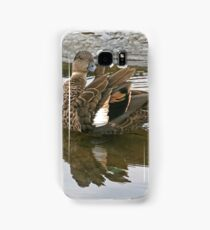 Chestnut Teal - female (4220) Samsung Galaxy Case/Skin