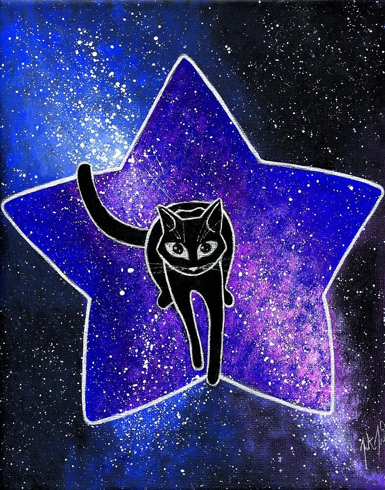 Intergalactic Black Cat by Lilbobtail