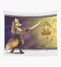 Scarlet The Bandit King Wall Tapestry