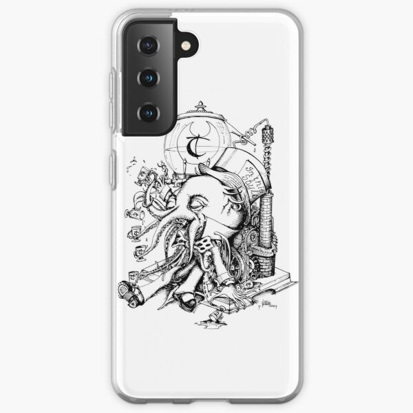 Cthulhu loves Absinthe Tea Samsung Galaxy Soft Case