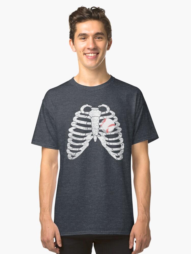 Ribs Baseball  Classic T-Shirt Front