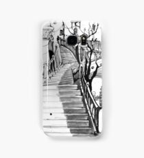 Stairs from the Yarra River to Flinders Street Station Samsung Galaxy Case/Skin