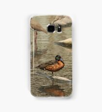 Chestnut Teal - male (587) Samsung Galaxy Case/Skin