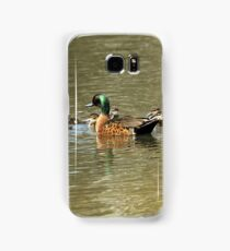 Chestnut Teal - family (569) Samsung Galaxy Case/Skin