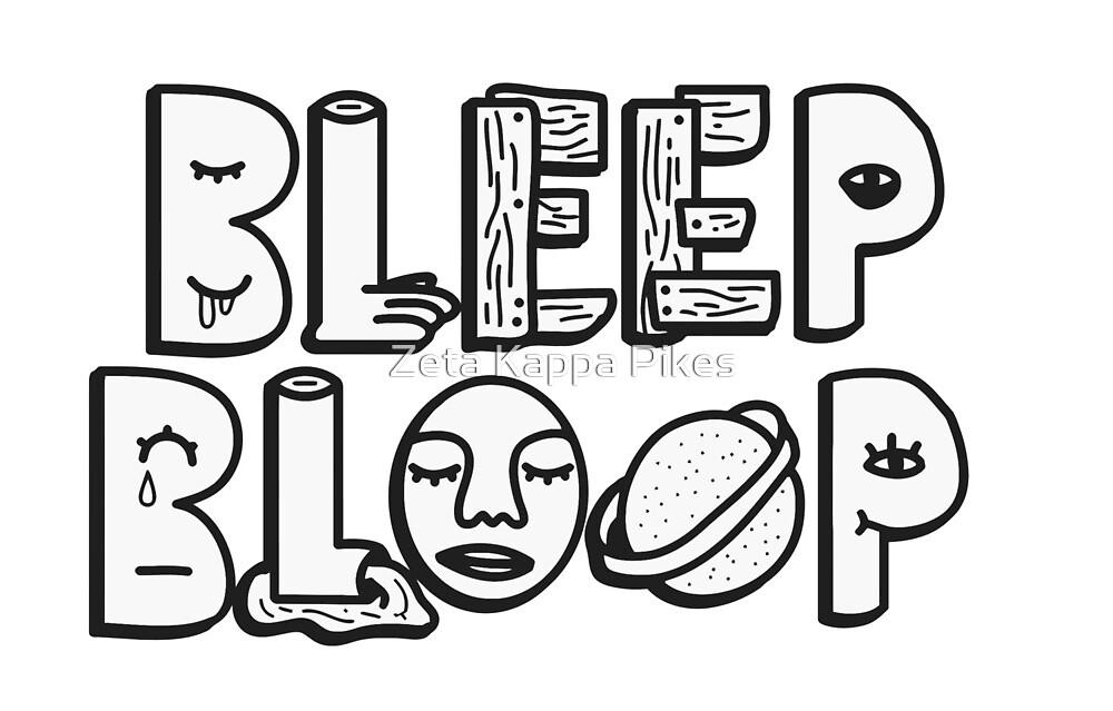 bleep bloop by Andrew Hancock