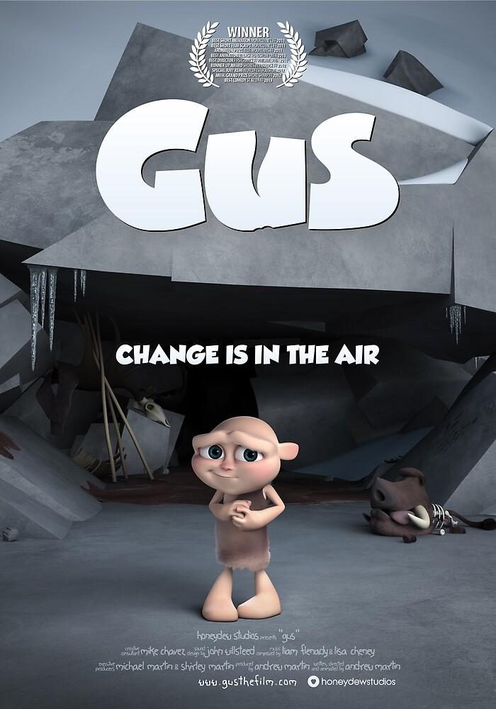 Gus Poster Official by honeydewstudios