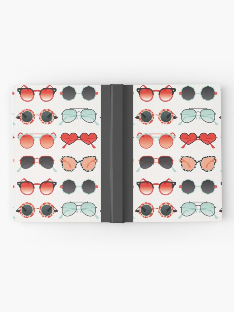 Alternate view of Sunglasses Collection – Red & Mint Palette Hardcover Journal