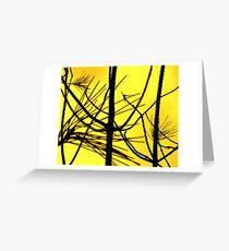 Bare branches Greeting Card