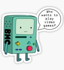 Video Game Beemo (BMO) Sticker