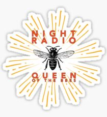 Queen of the Bees - Logo Sticker