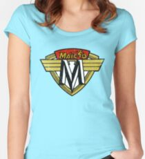 Maico Motorcycle DISTRESSED Women's Fitted Scoop T-Shirt