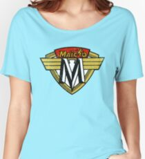 Maico Motorcycle DISTRESSED Women's Relaxed Fit T-Shirt