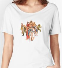 The Street Fighter Gang Women's Relaxed Fit T-Shirt