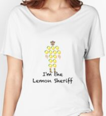 Lemon Sheriff - Light-Medium Women's Relaxed Fit T-Shirt