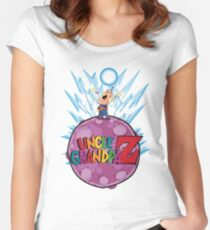 Uncle Grandpa Z Women's Fitted Scoop T-Shirt
