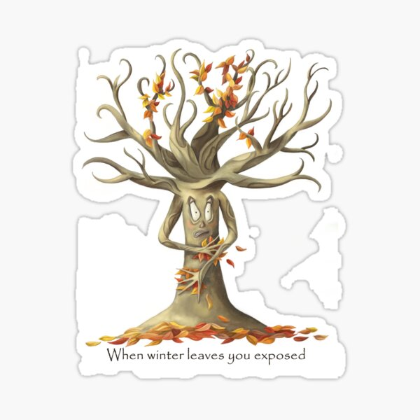 The Naked Tree Sticker