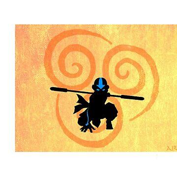 Avatar Air Bender von TheRonSwanson