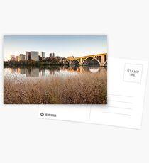 Arlington Virginia Key Bridge Potomac River Postcards