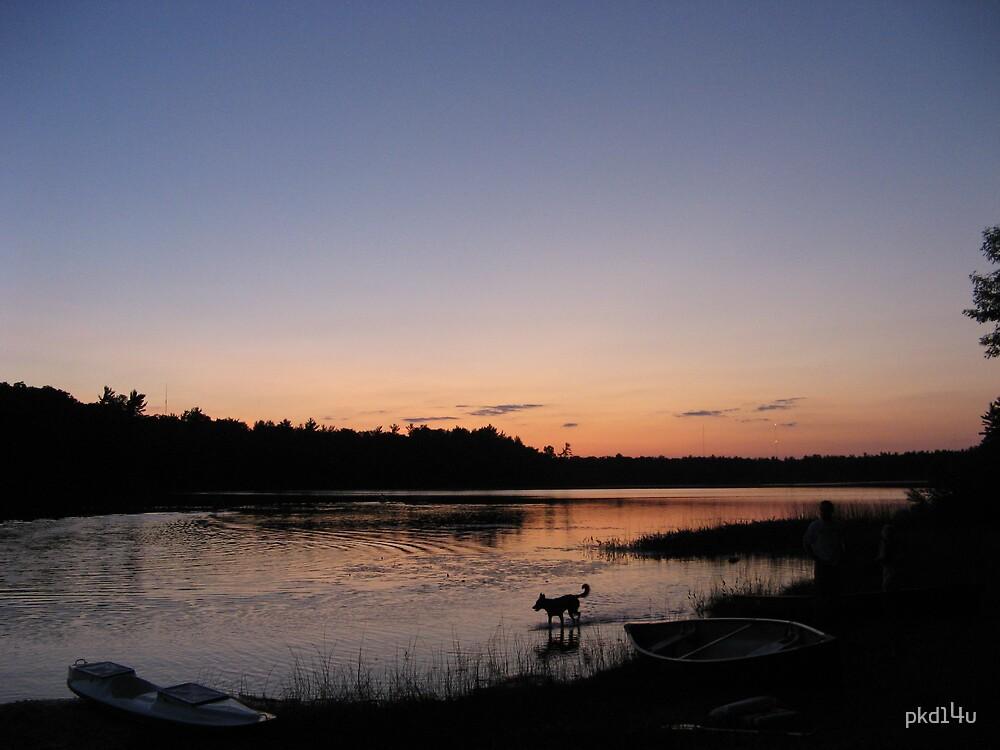 Sunset at Long Lake by pkd14u