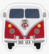 Badger Volkswagen Sticker