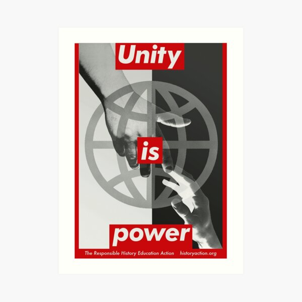 Unity is Power Art Print