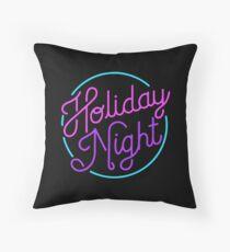 holiday night Throw Pillow