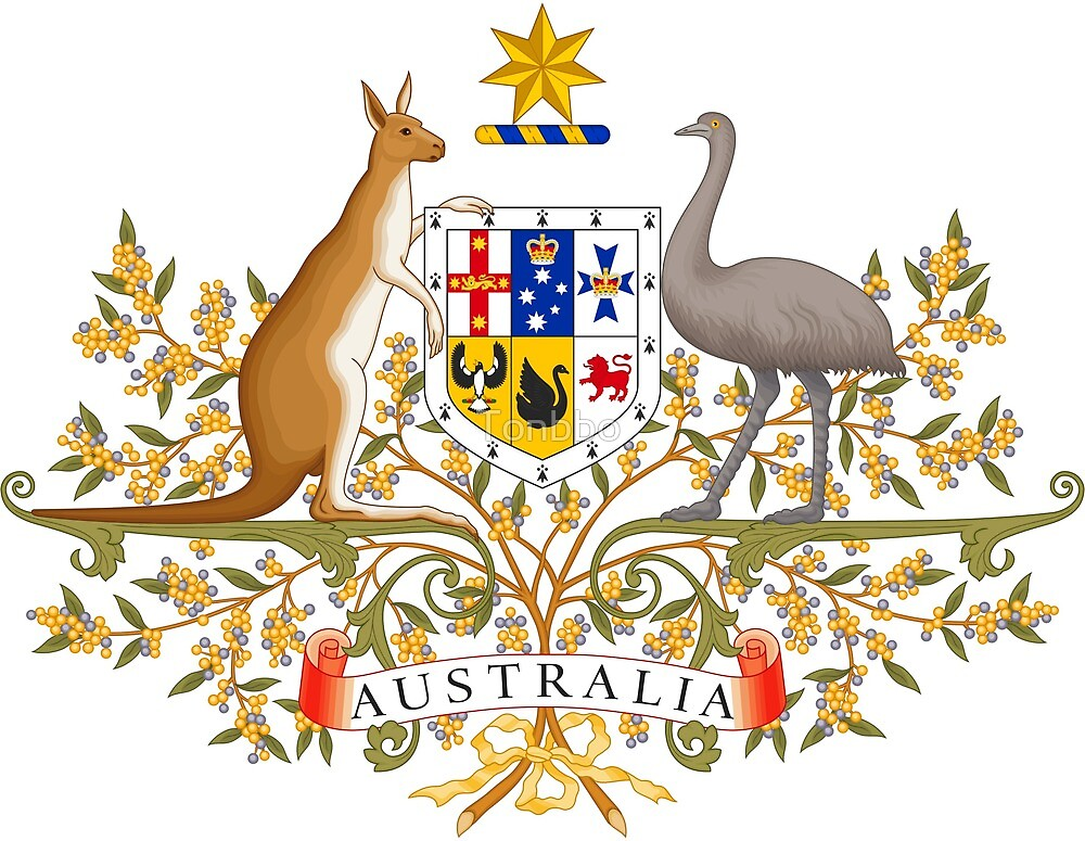 Australia Coat of Arms by Tonbbo