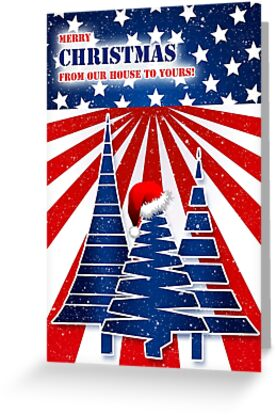 from Our House to Yours - Stars and Stripes Christmas  by Doreen Erhardt