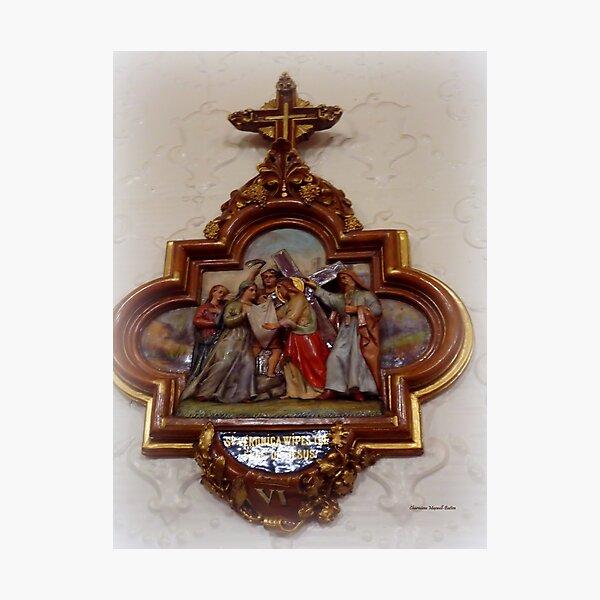 Saint Veronica -The Patron Saint of  Photography Photographic Print